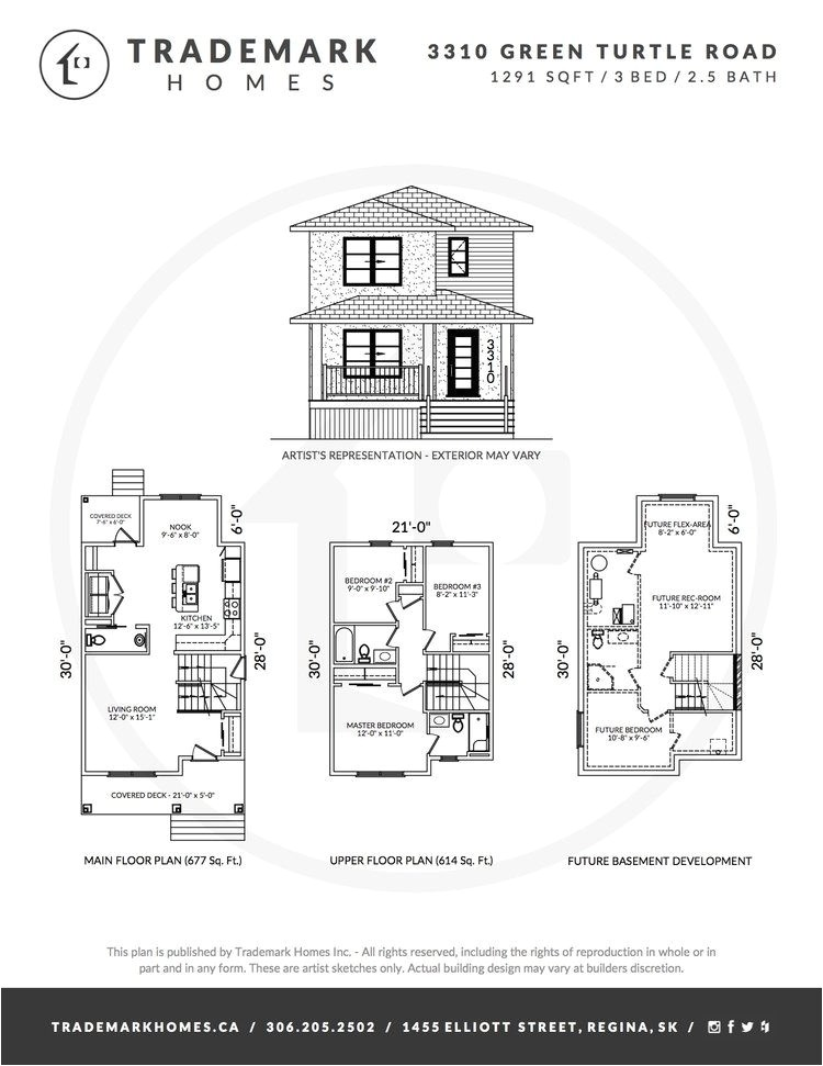 trademark homes floor plans best of 3310 green turtle road regina saskatchewan the greens on