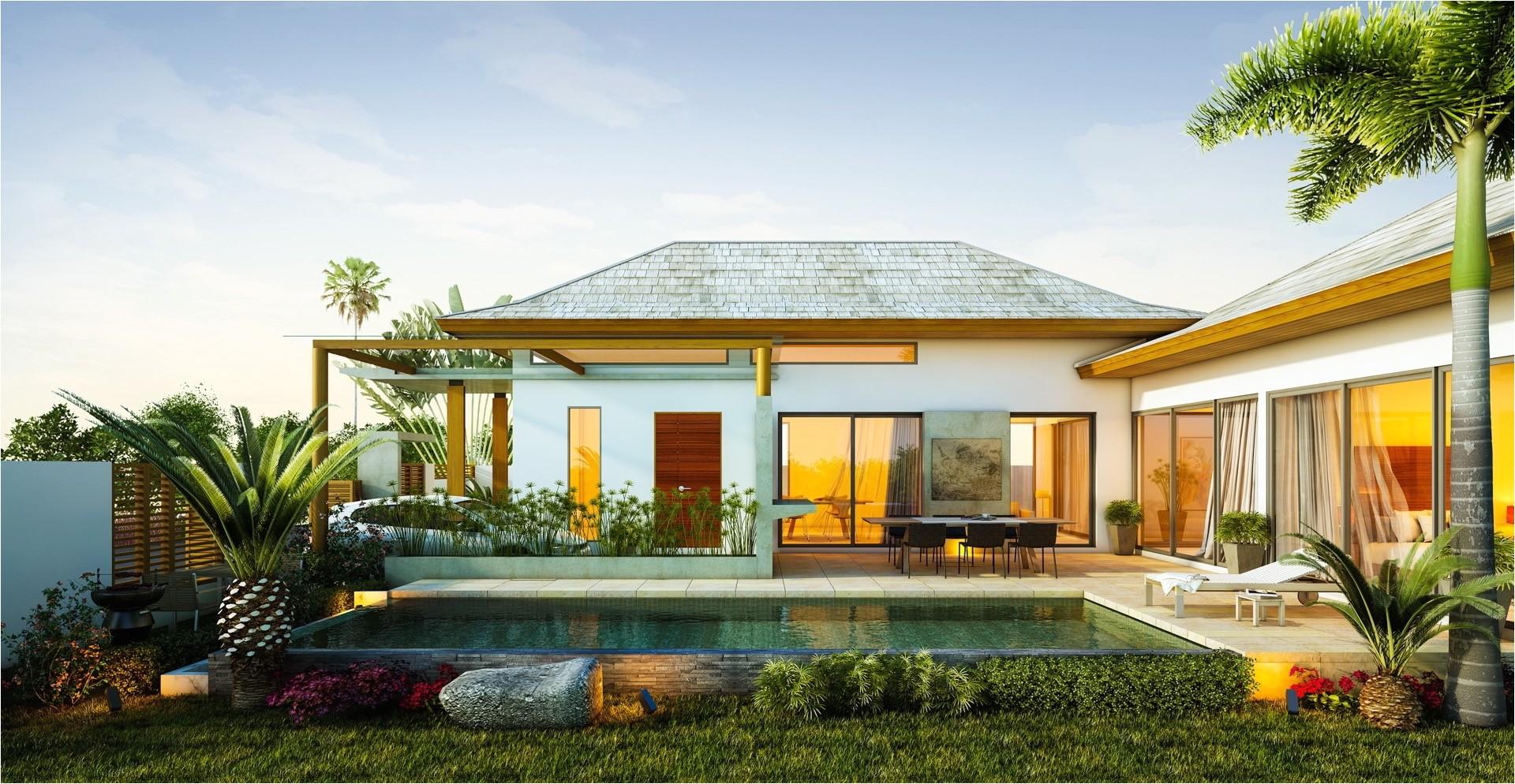 tropical island homes designs 2