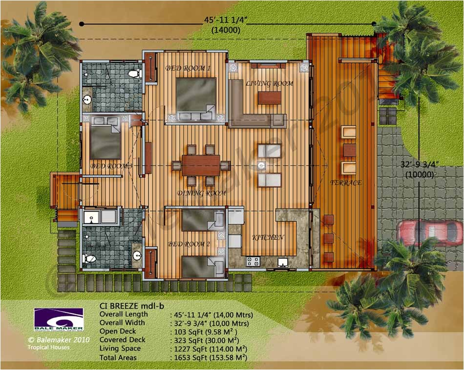 tropical house floor plans australia