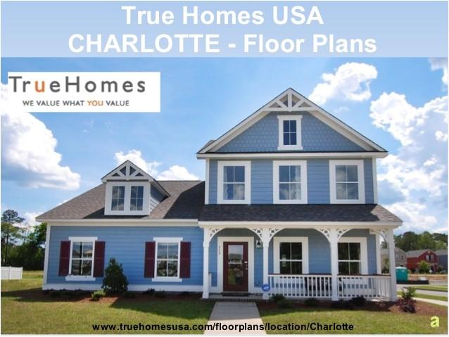 true homes floor plans