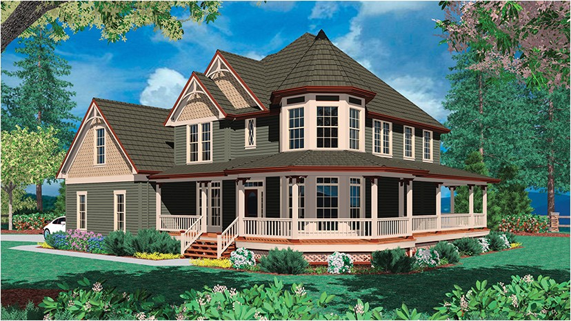 house plans two story wrap around porch