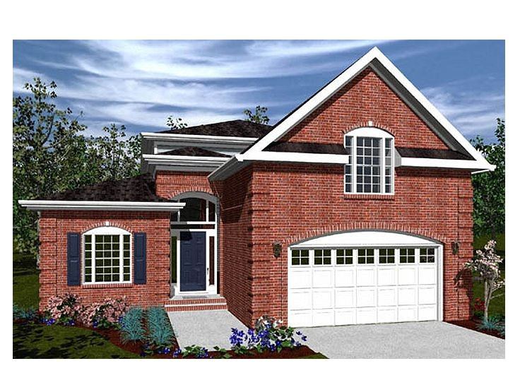 2 story house plans for narrow lots inspiration
