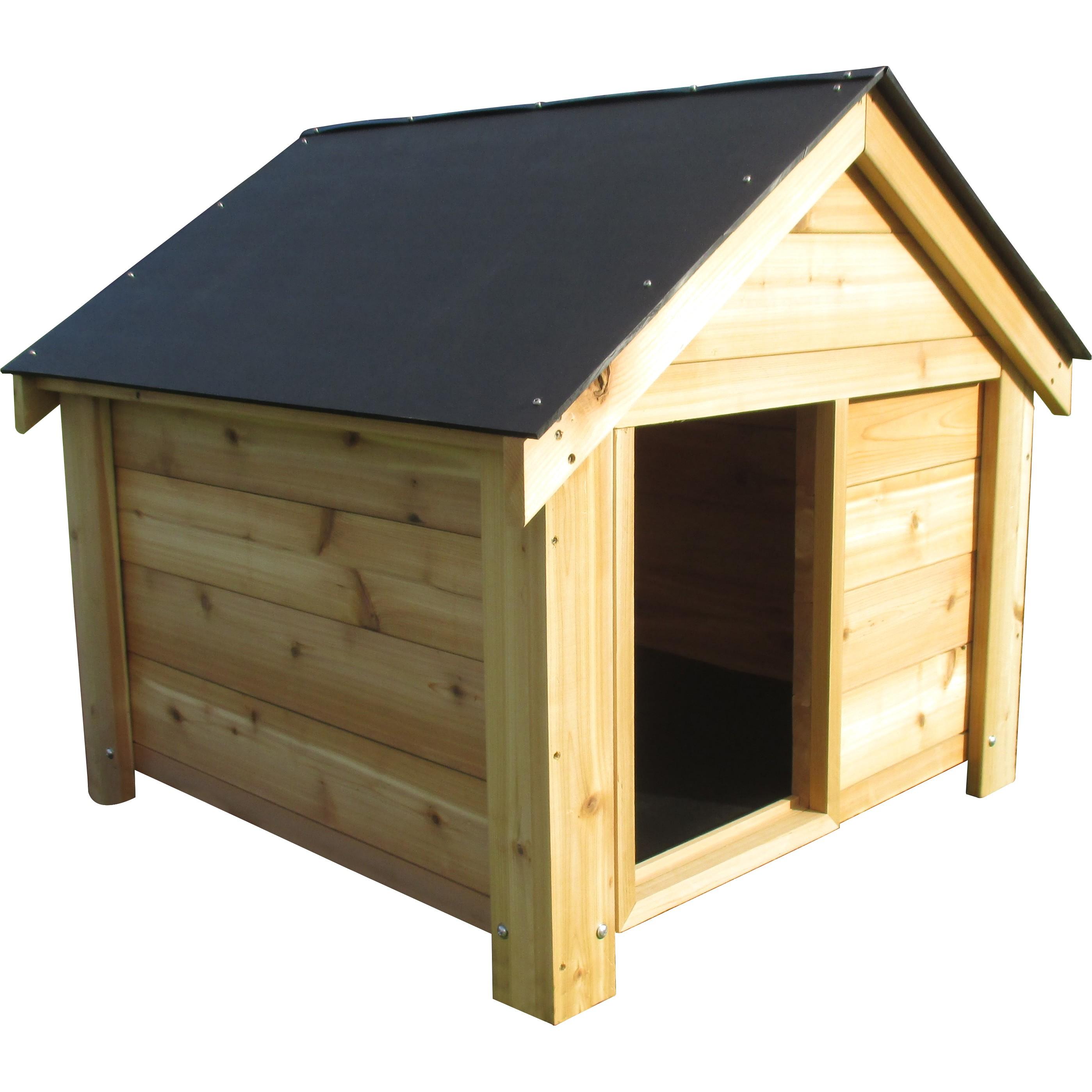 the ultimate cedar dog house doghouse36x36 cedr1013