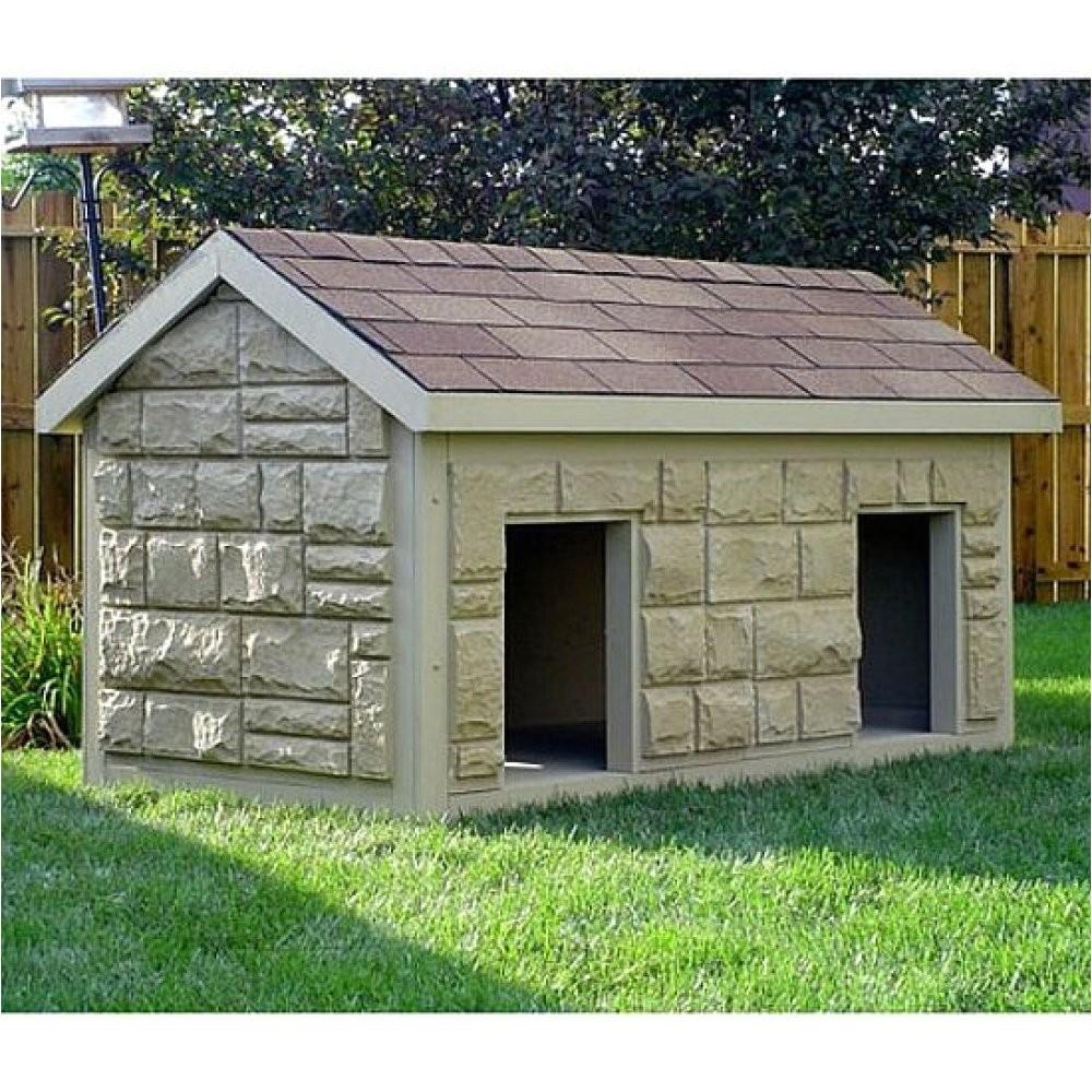 luxury dog house plans