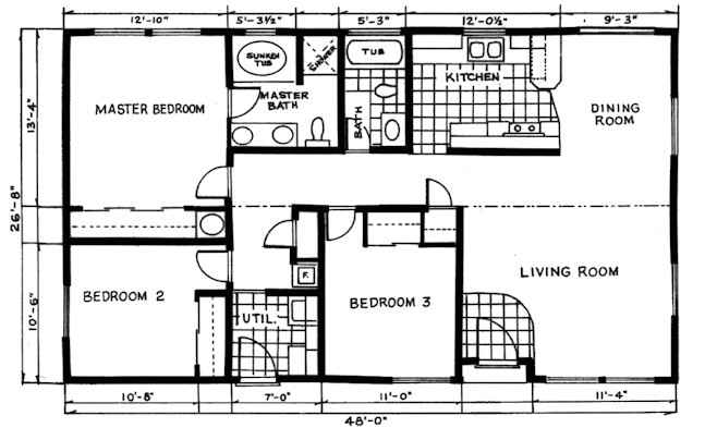Valley Quality Homes Floor Plans Valley Quality Homes Cottage Series 2808 Floor Plan