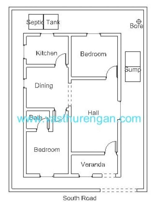 Vastu Kairali Tv Home Plans Vastu Plan for south Facing Plot 2 Vasthurengan Com