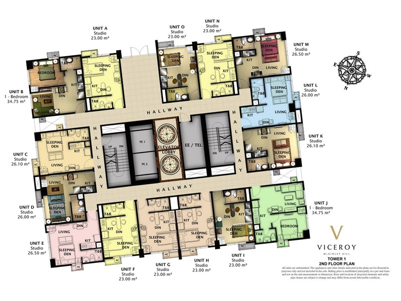 Viceroy Homes Floor Plans Floor Plans Unit Layouts Viceroy Mckinley Hill