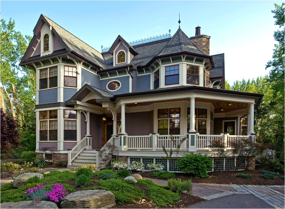 elaborate victorian house exteriors