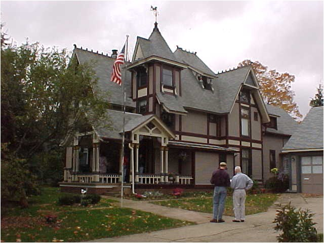 stick style victorian house