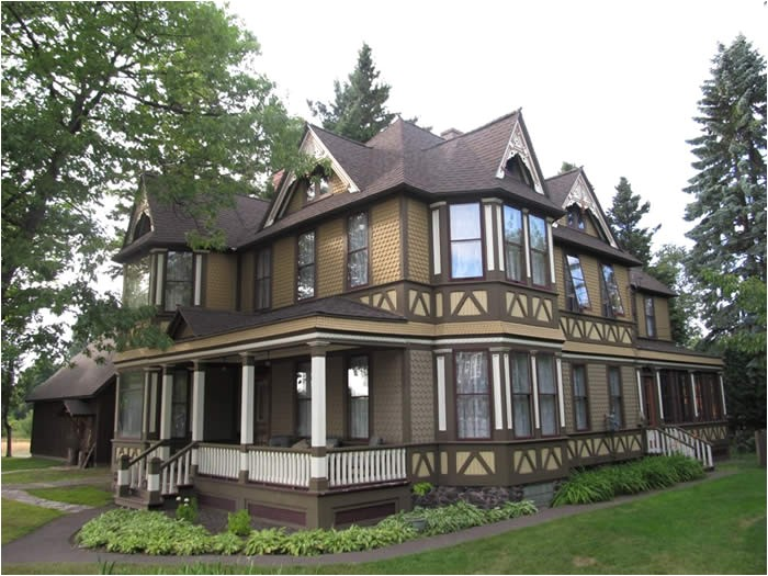 victorian stick style house historic colors 4