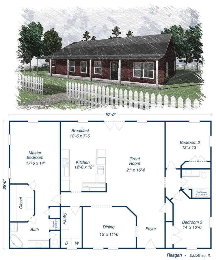 View Floor Plans for Metal Homes Reagan Metal House Kit Steel Home Ideas for My Future