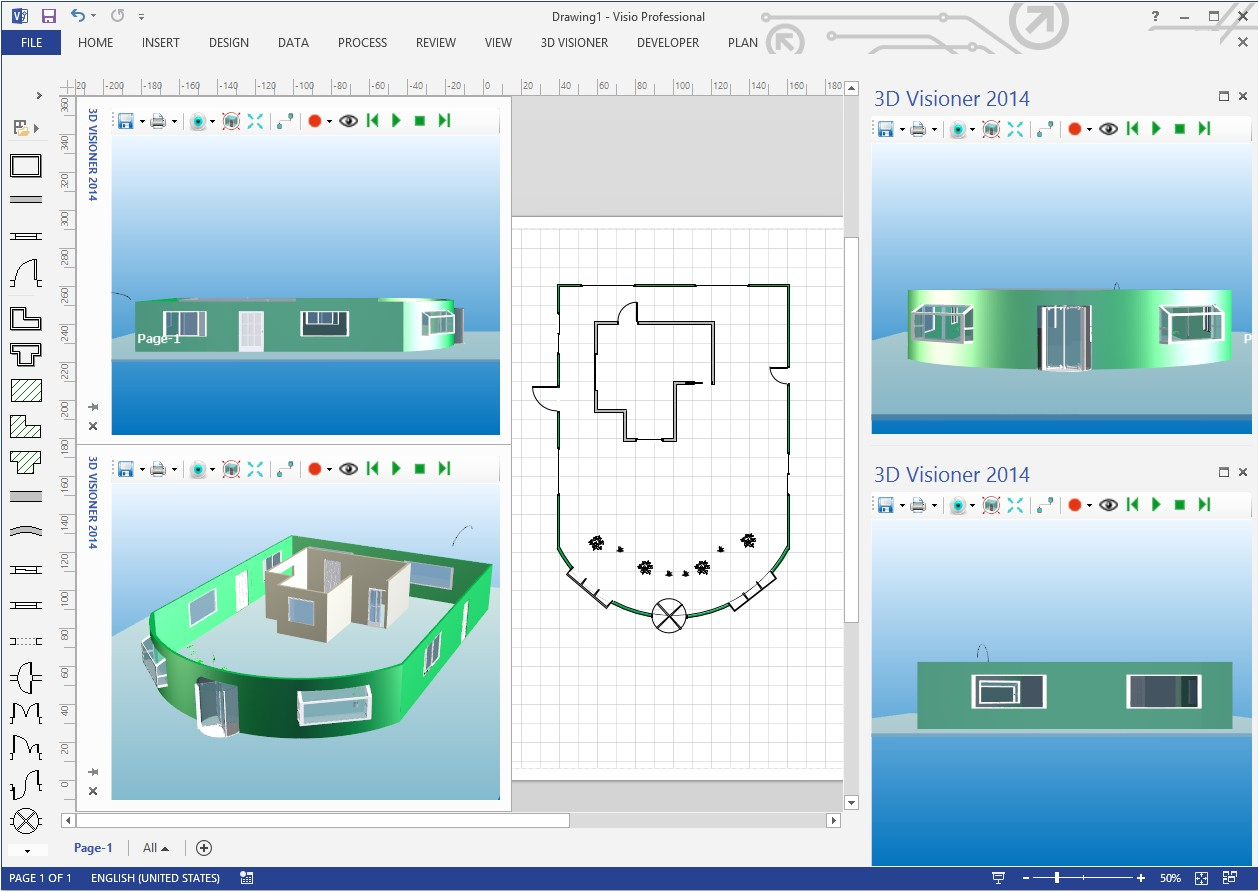 22 images of visio template free house download 1068