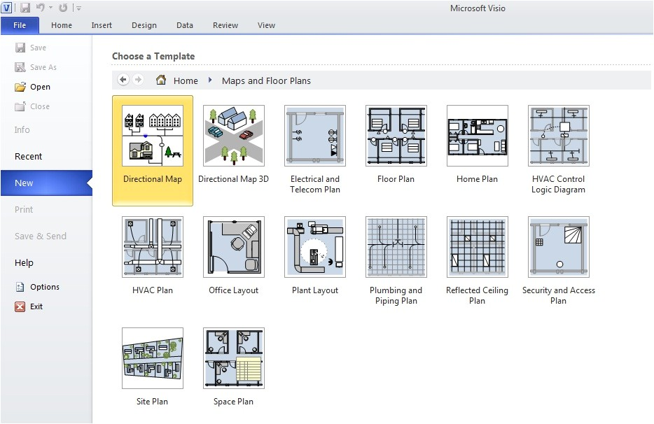 Visio Home Plan Template Download