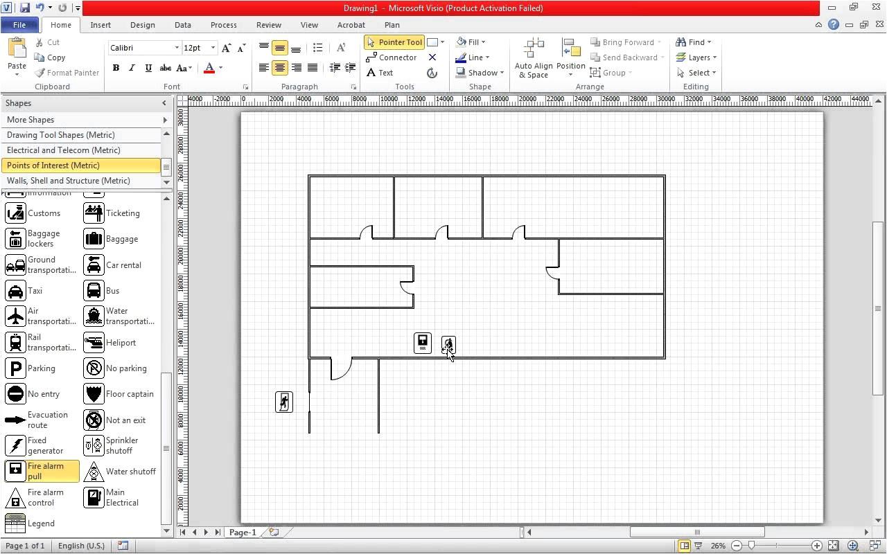visio floor plan download beautiful 54 elegant graph visio home plan template download
