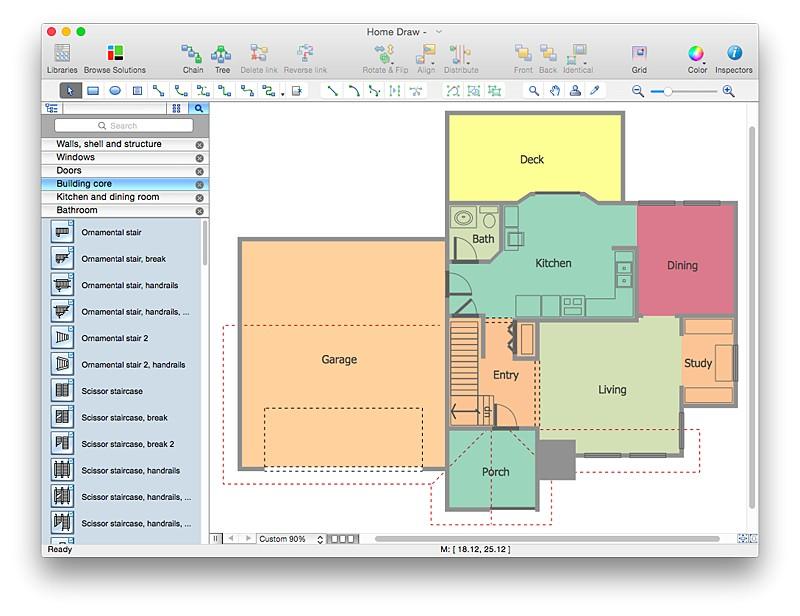 visio 2010 floor plan template