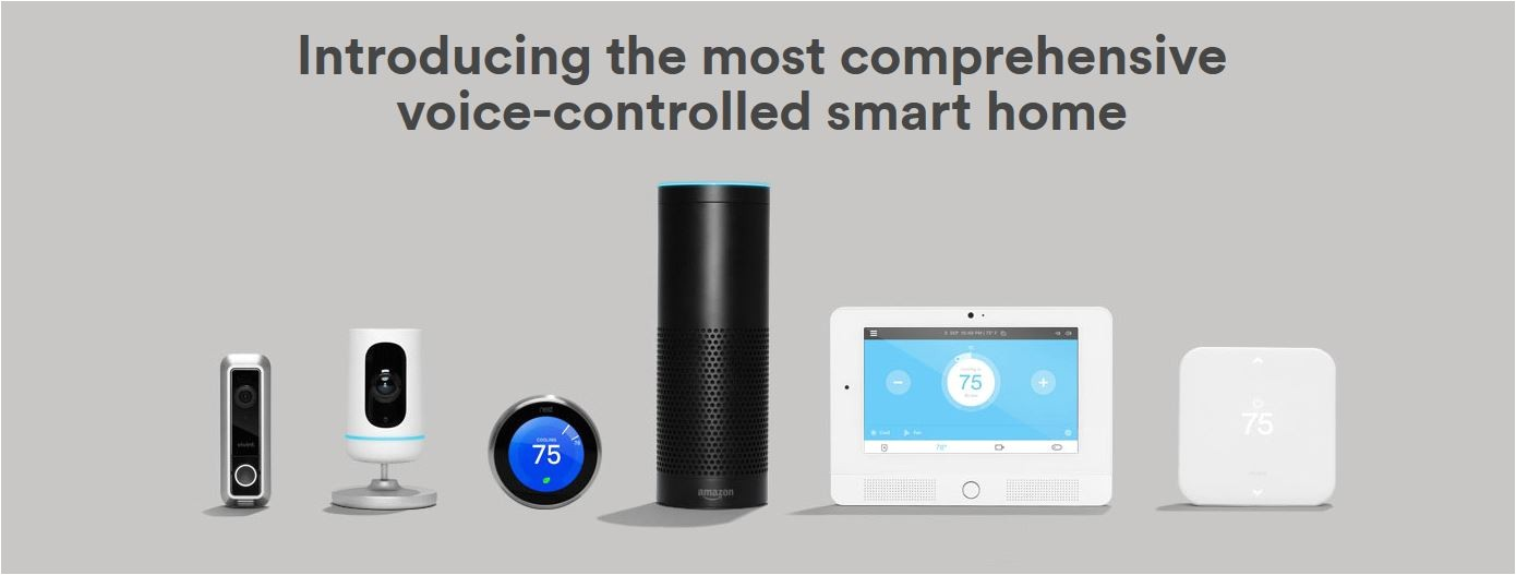 vivint brought the most comprehensive smart home kit to ces 2016