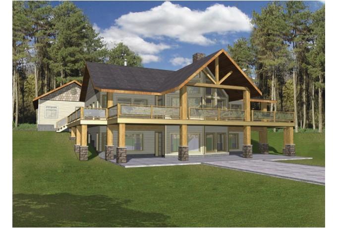 hillside cottage plans