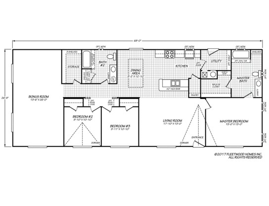 waverly mobile home floor plans