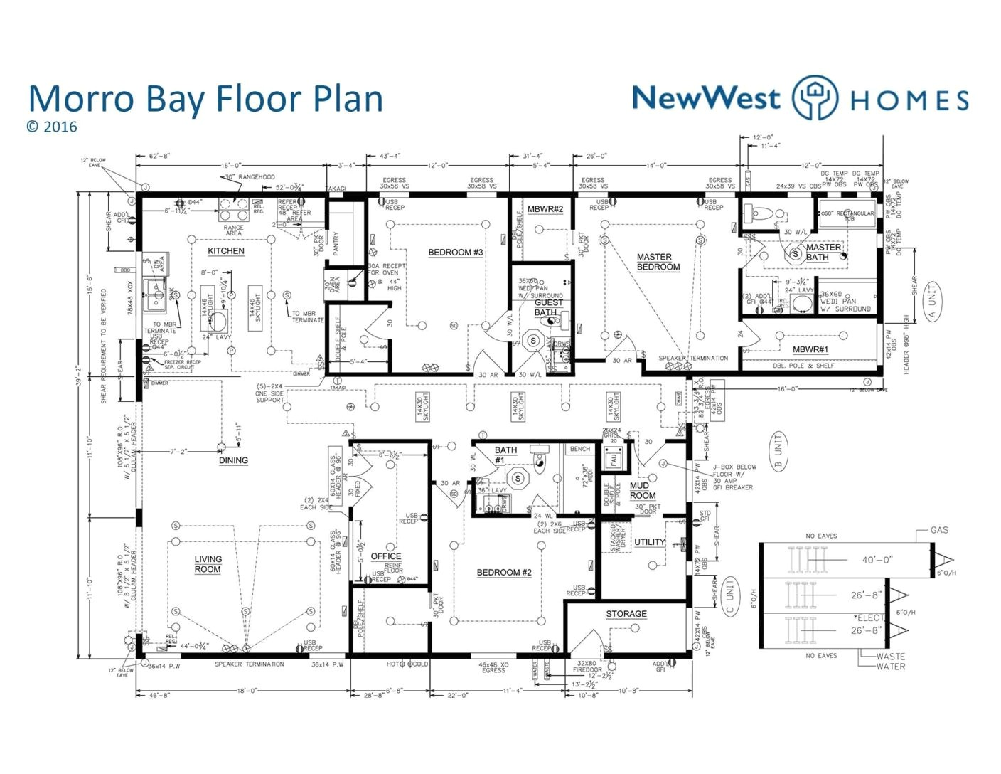 floor plans for contemporary homes