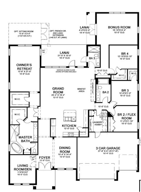 floorplan of the month homes by westbay key largo
