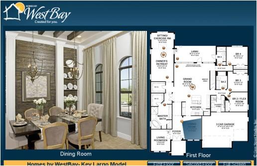 West Bay Homes Floor Plans Westbay Floorplan Crown Watergrass