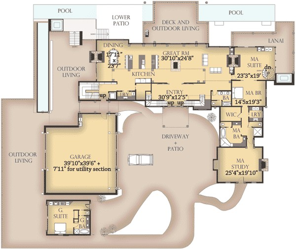 beautiful western house plans 6 western style floor plans