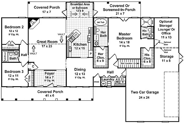 western house plans