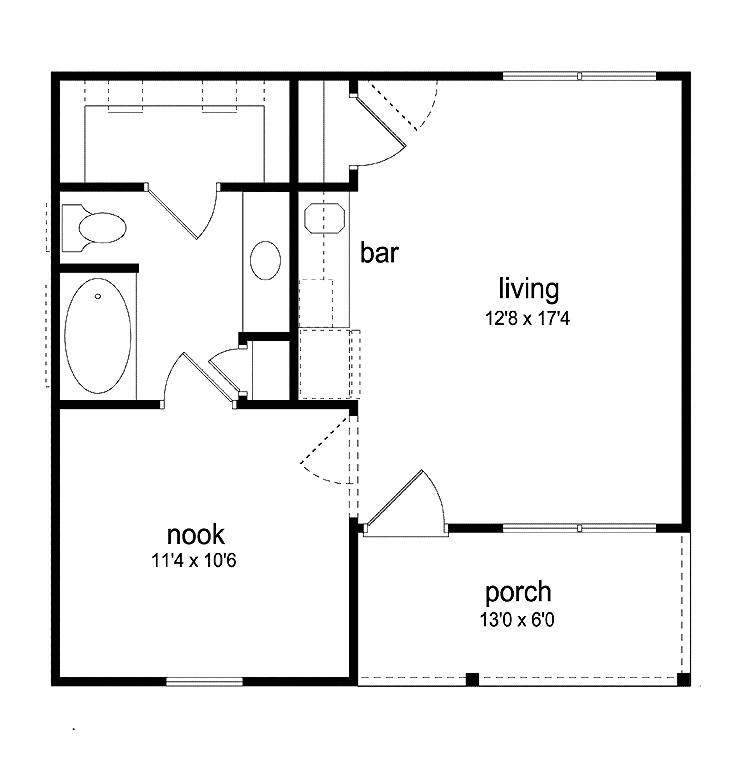 house plans wheelchair accessible home