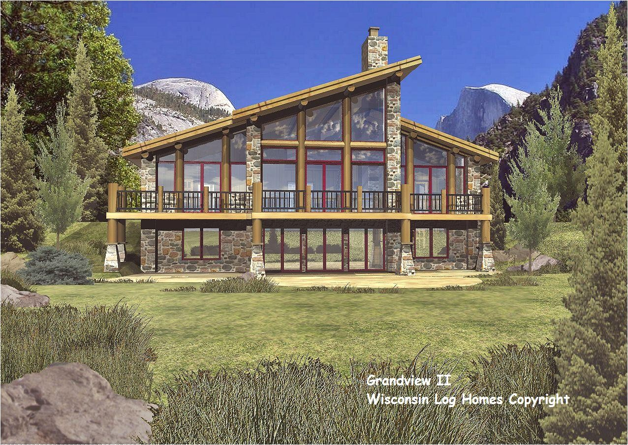 architecture homes plans log home floor wisconsin 381193