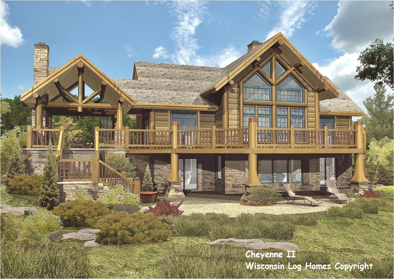 log home floor plans wisconsin homes inc 4