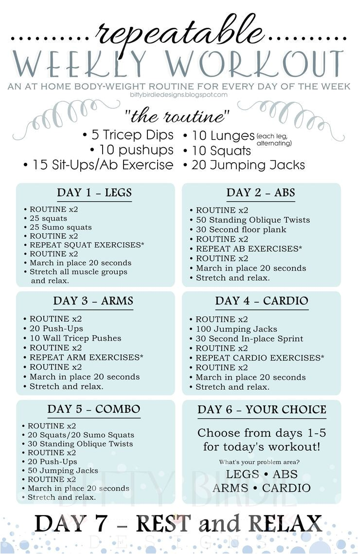 free women s workout routines for weight loss