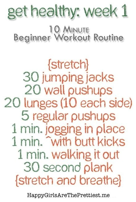 workout wednesday beginner at home workout