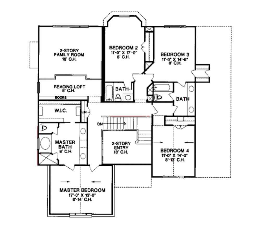 1100 sq ft house plans 2 story