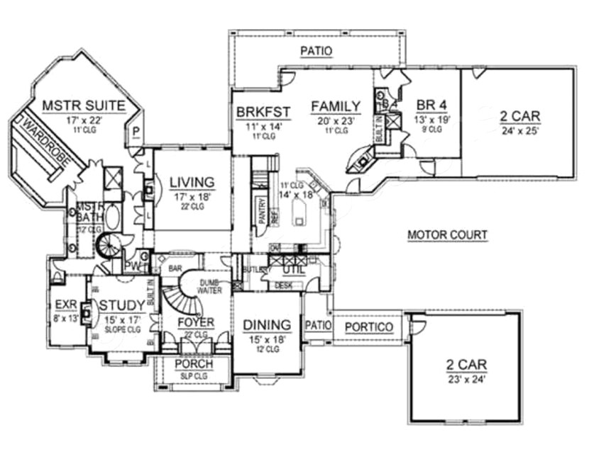 12000 sq ft home plans best of mansion floor plans square feet 9 bedroom house sq ft