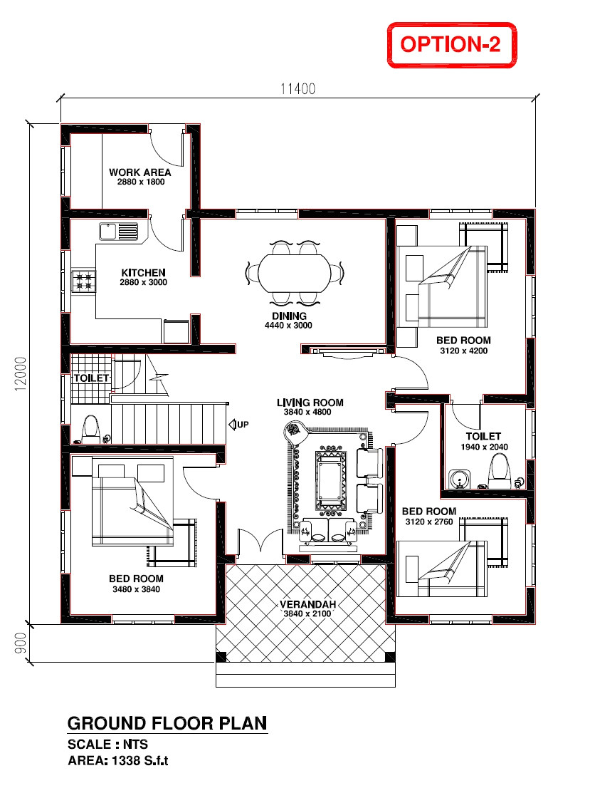12000 sq ft home plans fresh modern western style house kerala home design floor plans small