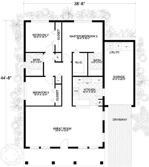 1250 sq ft home plans