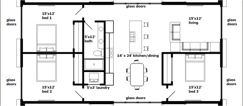 1250 square feet 3 bedrooms 1 bathroom luxury home plans 0 garage 37322