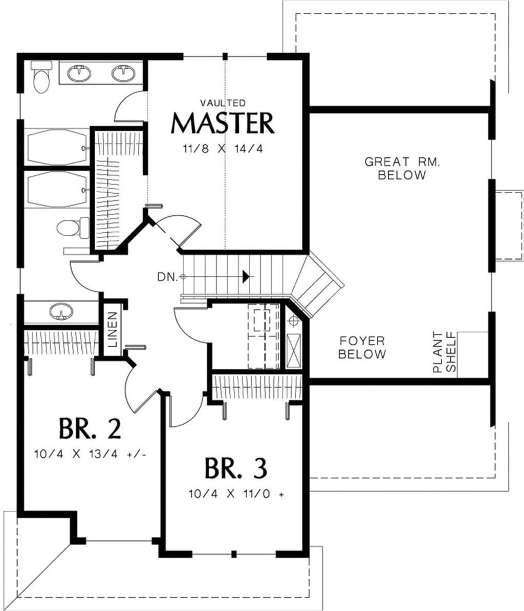 1500 square feet 3 bedrooms 2 5 bathroom craftsman home plans 2 garage 13947