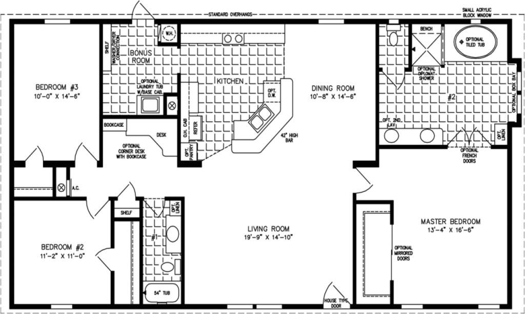 1500 to 1600 square feet house plans