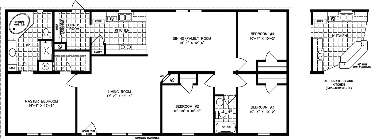 1600 sq feet house plan