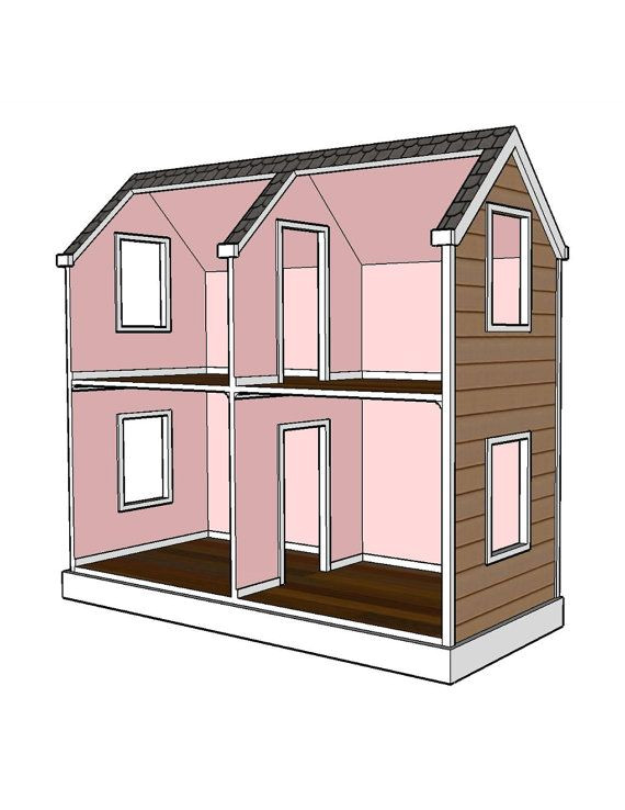 doll house plans 18 inch doll