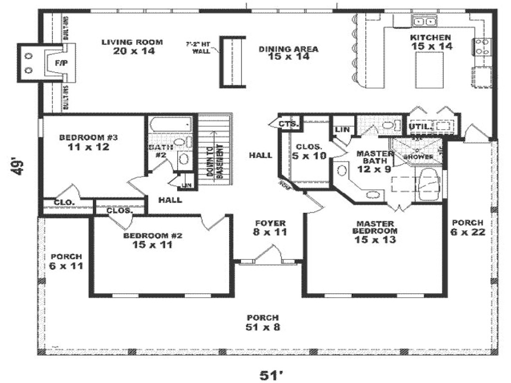 fbce6aba4ffe539a 1800 square foot house plans home floor plans 1800 sq ft 4 br
