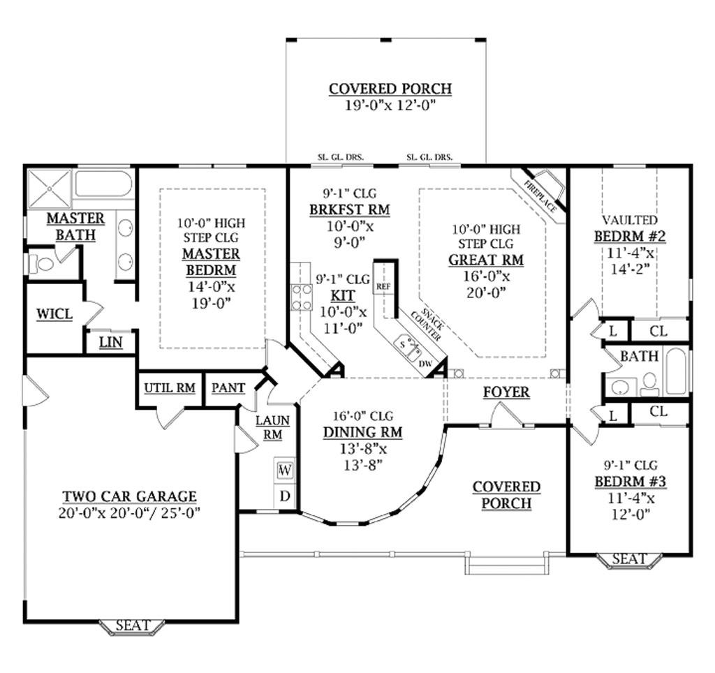 1800 square feet 3 bedrooms 2 bathroom farm house plans 2 garage 33339
