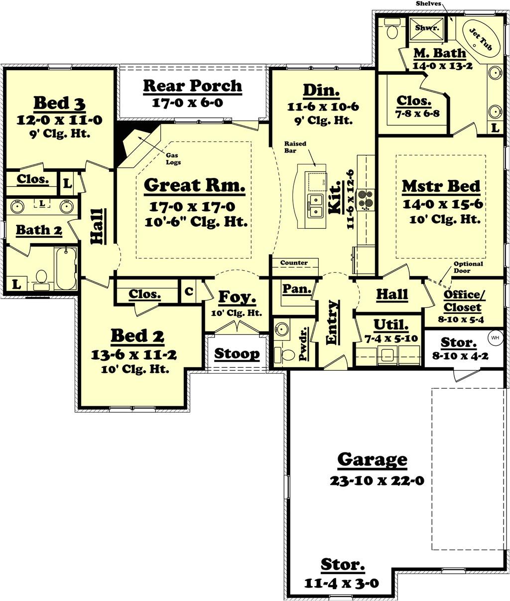 1800 square feet 3 bedrooms 2 5 bathroom european house plans 2 garage 36452