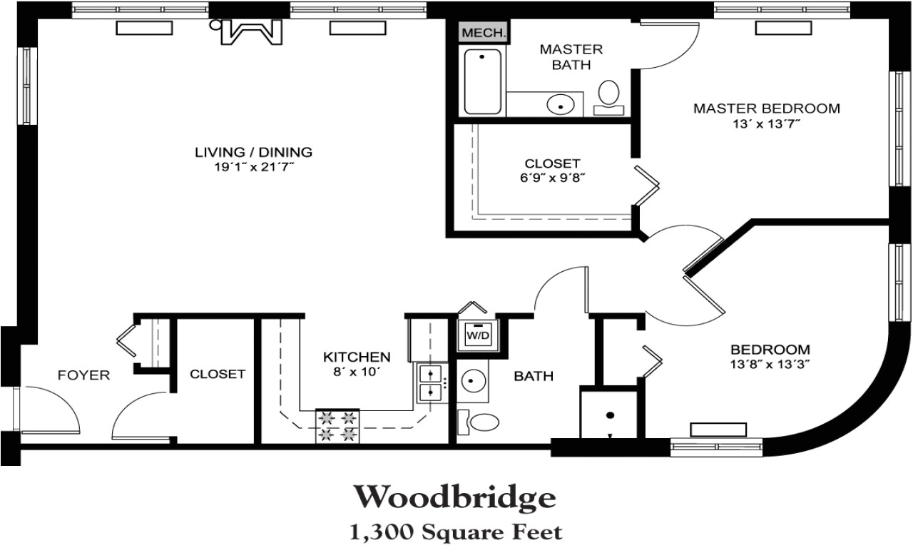 e1e2fd7695ec2e66 house plans 1800 square foot 1300 square foot house floor plan