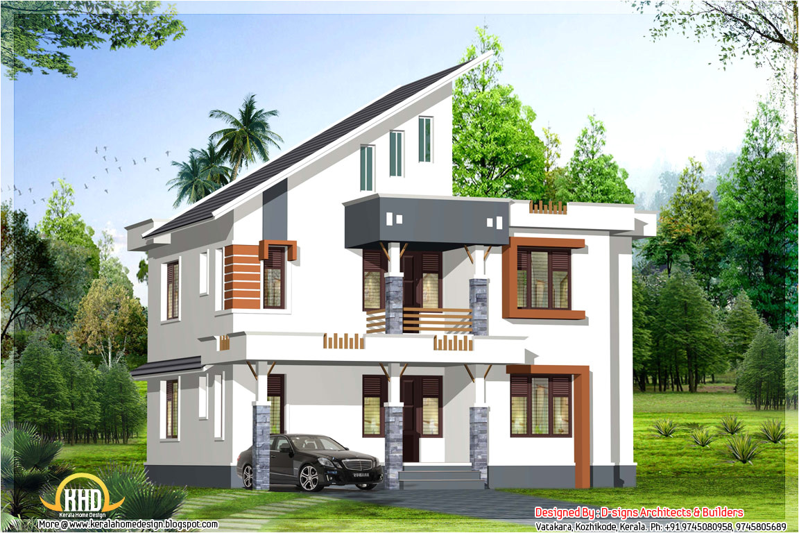1900 sq ft contemporary kerala home