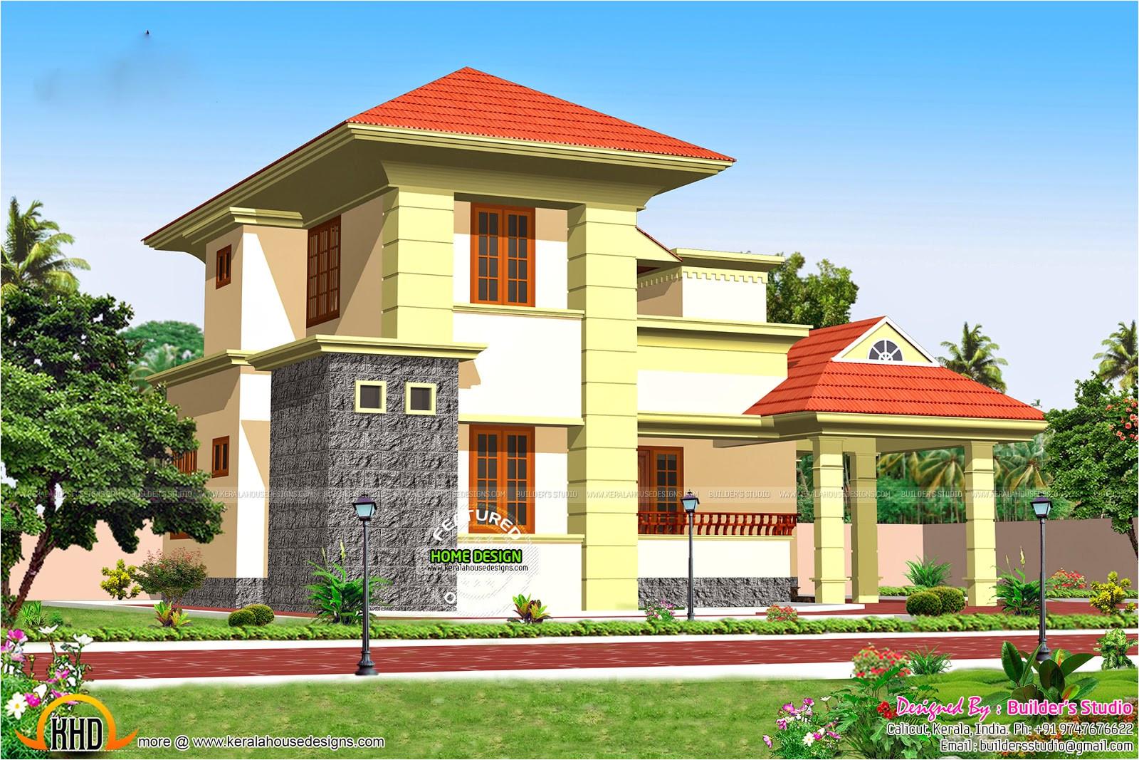 1900 sq ft residence design