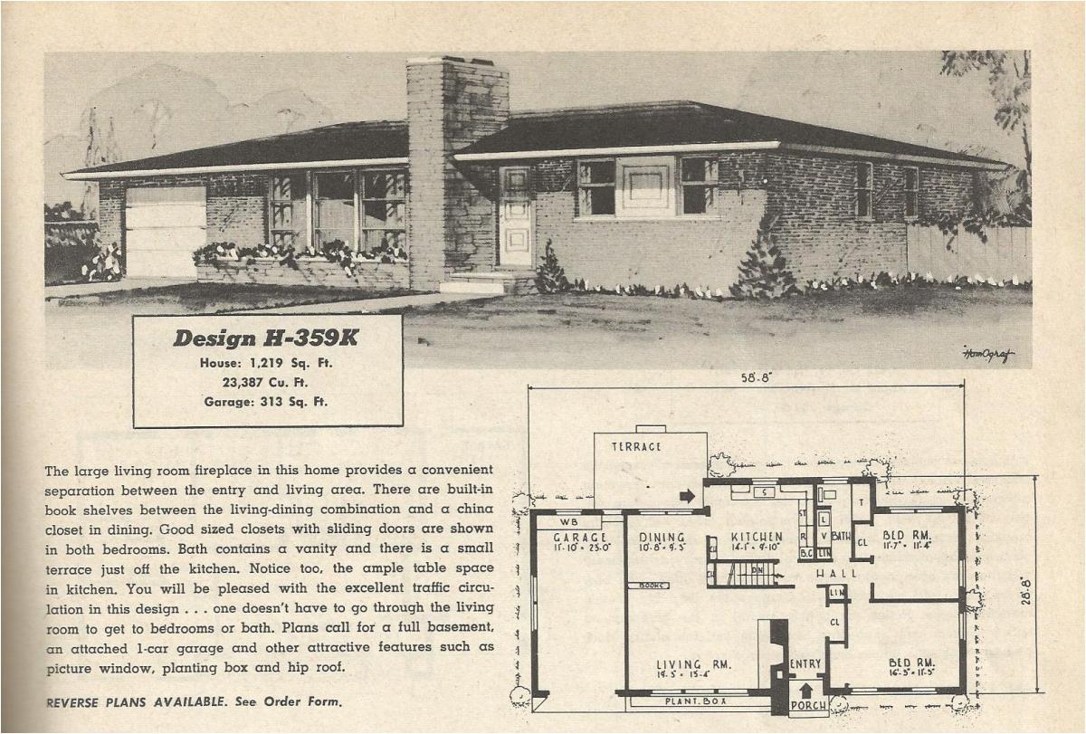 vintage house plans 359
