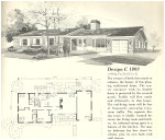 1960s Home Plans Vintage House Plans 1960s Ranches and L Shaped Homes