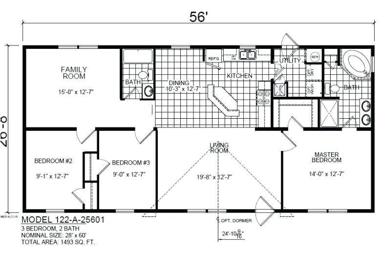 1998 Fleetwood Mobile Home Floor Plans 1998 Fleetwood Mobile Home Floor Plans